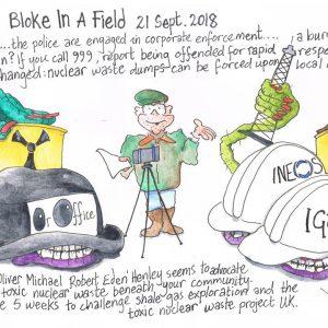 Bloke In A Field